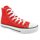 Converse All Star Chuck Taylor Hi Red New Unisex Shoes
