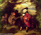THE MONKEY WHO HAD SEEN THE WORLD PAINTING BY EDWIN HENRY LANDSEER REPRO