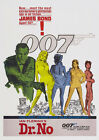 "Classic Movie - Dr. No- 24""x36"" Giclee Print on Canvas £70.36 GBP"