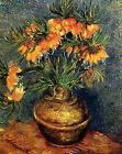 "Vincent Van Gogh- Fritillaries in a Copper Vase - 20""x26""   on Canvas"