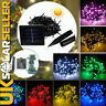 60/100/200/500 LED Solar String Fairy Lights Charger Party Garden Christmas