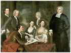 Wall Decor Historical Poster. Family painting Art Design. Room Home art. 1563