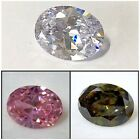51CT+ BIG LAB CZ OVAL CUT - 18X24MM *AAA (VARIED COLORS AVAIL.)