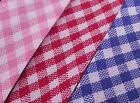 Gingham CHECK Bias Binding For Sewing & crafts Per Metre 18mm Wide Choose Colour