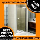 Bi fold, Hinge, Pivot & Sliding Shower Door Enclosure Now with Easy Clean Glass