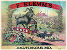 Decor Poster.Fine Graphic Art.F. Klemm's Bock.Victorian  Home Wall Design.1205