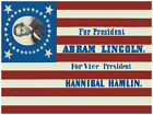 Decor Political Poster. Graphic Art. Abraham Lincoln. Home Wall Design. 1207