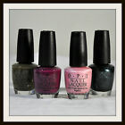 OPI NAIL LACQUER Polish 4 Color Full Size 0.5 oz Choose From 4 New Unbox Unseal