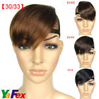 2012 HOT SALE Womens Clip in Hair Extensions Front Bangs Fringe CL2238