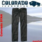 Colorado STAN BLACK Jeans Herrenjeans Weite 30 31 32 33 34 36 38  - Länge 38