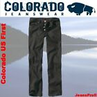 Colorado US First Jeans BLACK Herrenjeans Hosen W 28 29 30 31 32 33 34