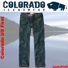 Colorado US First Jeans RINSED CRINCLE  Herrenjeans Hosen W 28 29 30 31 32 33 34