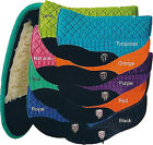 PRI PREMIUM DOUBLE BACK FLEECE  BARREL EQUU-FELT SADDLE PAD (SEVERAL COLORS)