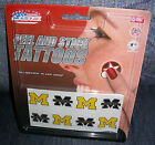College Logo's Peel and Stick Tattoos - Made in the USA - No water needed