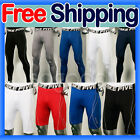 Compression tight fit sport golf pants 14 styles fast dry M~2XL base under layer