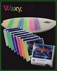 WaxyWax surfboard surf wax cold water 11 different colours 85 grams
