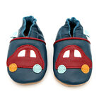 NEW SOFT LEATHER BABY SHOES 0-6,6-12,12-18,18-24mths CARS