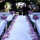 150 ft Fine Wedding Bridal Satin Aisle Runner 22 Colors Decoration Made In USA