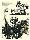 El Angel de muerte Movie Decor Poster. Graphic Art. Film Interior Design 3019