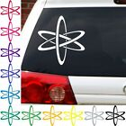 atom Nerdy GEEK big bang theory cool viny decal graphic sticker