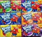 Kool-Aid Jammers Fruit Drink Pouches 100% Daily Vitamin C ~ Pick One