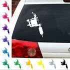 Tattoo machine needle Gun Ink master LA NY miami artist shop decal sticker.