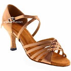 TPS Latin Ballroom Salsa Custom-made Dance Shoes D464
