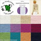 SUBLIME EGYPTIAN COTTON DK KNITTING YARN - 50G - VARIOUS SHADE OPTIONS