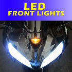 LED Upgrade Kawasaki ZX14R Front LED DRL Daytime Running Lights Bulb ZX14