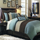 Complete 8 or 12 Piece Comforter Sheets & Bed Set in Full Queen King & Cal King!