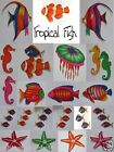 Tropical Fish Collection Choose from 22 Varieties Scrapbooking Embellishments