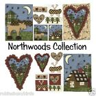 Northwoods Collection Camping Moose Canoe Heart scrapbooking Embellishments