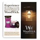 RANGE of WoodWick Medium Scented 10 oz Glass Jar Candle Candles 100 Hours New