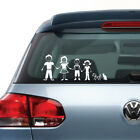 Family Figures Vinyl Decal Sticker Clings for Car Truck Van Vehicle Windows 2000