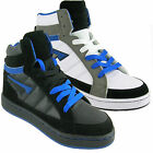 MENS ANKLE HI HIGH TOP TRAINERS BOYS SKATE BASEBALL SCHOOL BOOTS SHOES 6-12 UK
