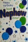 Nephew  birthday card (different designs to select ) Adult ,man 01