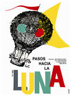 5042.Pasos hacia la luna steps to the moon Movie POSTER.Interior design Decor.