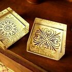 Medallion Pattern Clear Acrylic Block Rubber Stamps Christmas Card making Craft
