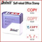 Deskmate {Copy} Self-Inked Rubber Office Stamp Chops - 4 styles to select