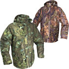 Jack Pyke Waterproof Camo Field Smock with Hood Hunting Shooting Fishing Jacket