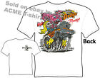 Rat Fink T Shirts Dodge Power Big Daddy Shirts Ed Roth Tee, Sz M L XL 2XL 3XL