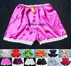 WOMENS GIRLS 100% PURE SILK SHORTS FRENCH KNICKERS BOXERS  SIZE S ~ 3XL SU118