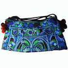Thai Hmong Embroidered Shoulders bag with long strap Many Colours Available