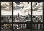 NEW YORK CITY WINDOW VIEW GIANT WALL POSTER