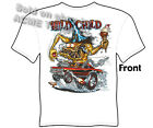 Rat Fink T Shirt Wild Child 1965 GTO Ed Roth Big Daddy Apparel Sz M L XL 2XL 3XL