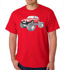 FIESTA XR2 MK2 CLASSIC RETRO UNIQUE ORIGINAL MONSTER TRUCK BIGFOOT CAR TSHIRT #8