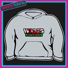 WALES 6 NATIONS  HOODY HOODIE ALL SIZES & COLOURS