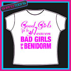 BENIDORM GIRLS HOLIDAY HEN PARTY PRINTED TSHIRT