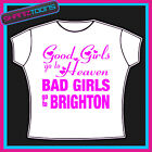 BRIGHTON GIRLS HOLIDAY HEN PARTY PRINTED TSHIRT