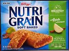 KELLOGG'S NUTRI GRAIN REAL FRUIT CEREAL BARS WHOLE GRAIN FIBER ~ CHOOSE ONE